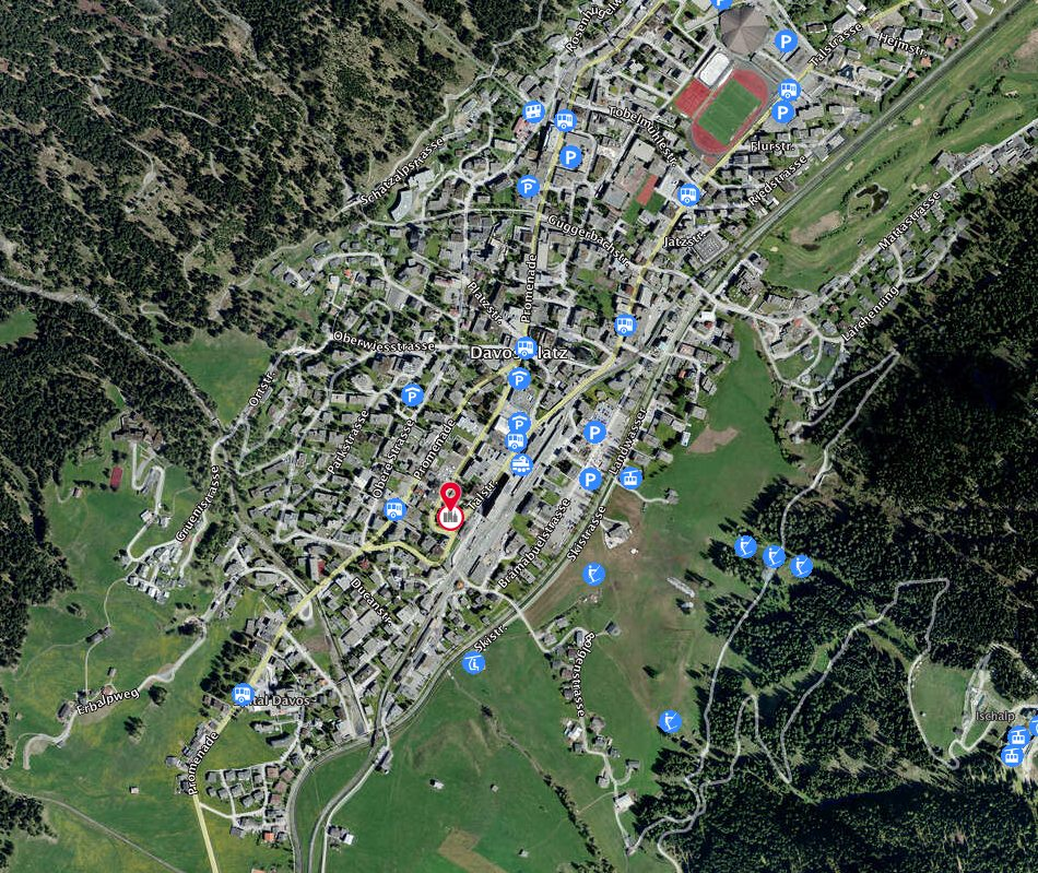 Wo finde ich die Heilsarmee Davos